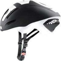 Uvex EDAero black-white mat
