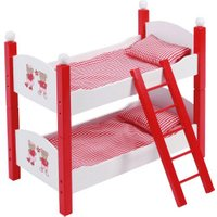 Bayer-Chic Doll Bunk Bed Dessin Teddy Bears