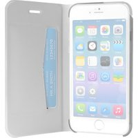 Puro Booklet Wallet Case White (iPhone 6/6S)