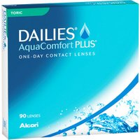 Alcon Dailies AquaComfort Plus Toric -0.50 (90 pcs)
