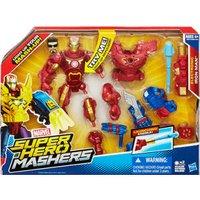 Hasbro Marvel Super Hero Mashers - Electronic Iron Man
