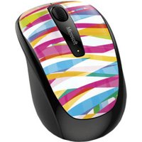 Microsoft Wireless Mobile Mouse 3500 (Bandage Stripes)