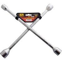 Am-Tech J0400 4 Way Wheel Wrench
