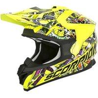 Scorpion VX-15 Evo Air Vector Neon Yellow/Multi Gloss