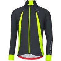 Gore Men's Oxygen Windstopper Jersey long black/neon yellow