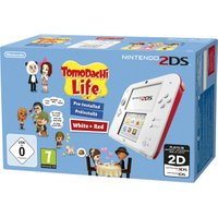 Nintendo 2DS white-red + Tomodachi Life