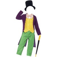 Smiffy's Roald Dahl Willy Wonka Childs Costume