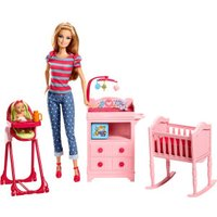 Barbie I Can Be Playset Baby Sitter