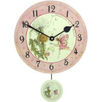 Roger Lascelles Fairie Wall Clock with Pendulum
