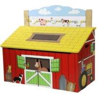 Teamson Happy Farm Toy Box