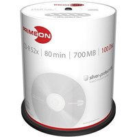 Primeon CD-R Silver-Protect-Disc 700MB 52x 100pk Spindel