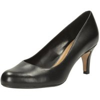 Clarks Arista Abe black leather