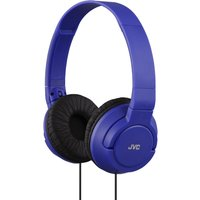 JVC HA-S180 Blue Powerful Bass Headphones