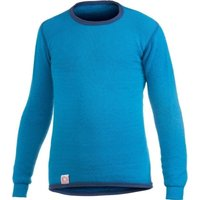 Woolpower Kids Crewneck 200 dolphin blue
