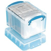 Really Useful Products Clear Plastic Storage Box 3 L (4801774)