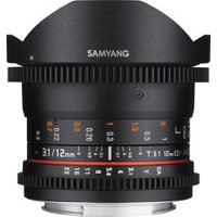 Samyang 12mm T3.1 ED AS NCS Fish-eye VDSLR Sony E