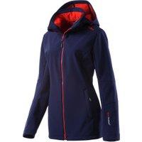 CMP Woman Softshell Jacket Zip Hood (3A22226) Navy