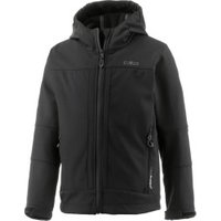 CMP Boys Softshelljacket Fix Hood (3A00094) Nero