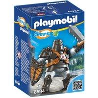 Playmobil Super 4 Black Colossus Figure Building Kit (6694)