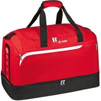 JAKO Sportbag Performance with Ground Compartment Junior red/white/black