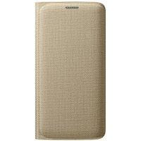 Samsung Flip Wallet Fabric silver (Galaxy S6 Edge)