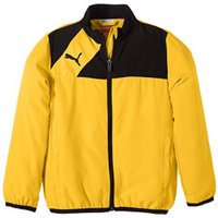 Puma Kinder Esquadra Leisure Jacket team yellow/black