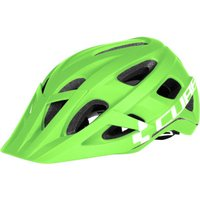 Cube Helmet AM Race green'n'white