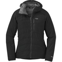 Outdoor Research Women's Cathode Hooded Jacket Black / Charcoal