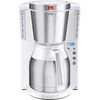 Melitta Look Therm Timer IV Stainless Steel White