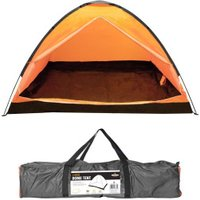 Milestone Camping 4 Man Dome Tent