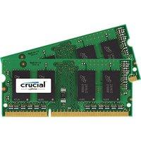 Crucial 4GB SO-DIMM DDR3 PC3-12800 CL11 (CT2KIT25664BF160B)
