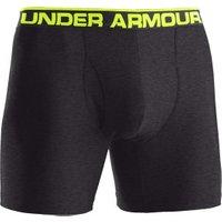 Under Armour Men's The Original 6'' Boxerjock Boxer Briefs carbon heather