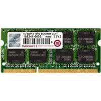 Transcend 4GB SO-DIMM DDR3 PC3-12800 CL11 (TS512MSK64V6N)
