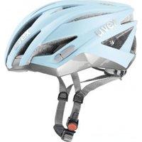 Uvex Ultrasonic Race light blue mat-silver