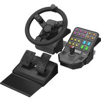 Saitek Farming Simulator Wheel + Pedals + Vehicle Side Panel