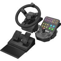 Saitek Farming Simulator Wheel + Pedals + Vehicle Side Panel