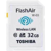 Toshiba SDHC FlashAir W-03 WiFi 32GB (SD-F32AIR03(8)