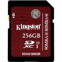 Kingston SDXC 256GB UHS-I U3 (SDA3/256GB)