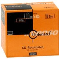 Intenso CD-R 700MB 80min 52x 10pk