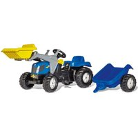 Rolly Toys rollyKid New Holland TVT 190 with Loader and Trailer