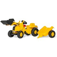Rolly Toys rollyKid CAT Caterpillar with Loader and Trailer