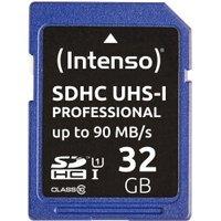 Intenso Professional SDHC 32 GB UHS-I U1
