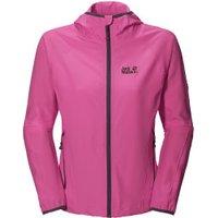Jack Wolfskin Turbulence Jacket Women Pink Hortensia