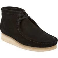 Clarks Wallabee Boot black suede (26103669)
