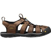 Keen Clearwater Leather CNX dark earth/black