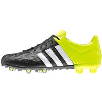 Adidas Ace 15.2 FG/AG Leather core black/footwear white/solar yellow