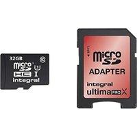 Integral UltimaPro X microSDHC 90/45MB Class 10 UHS-I U3 - 32GB