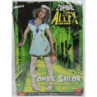 Smiffy's Zombie Sailor Costume, Female