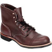 Red Wing Iron Ranger oxblood mesa leather