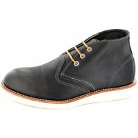 Red Wing Classic Chukka charcoal rough tough leather